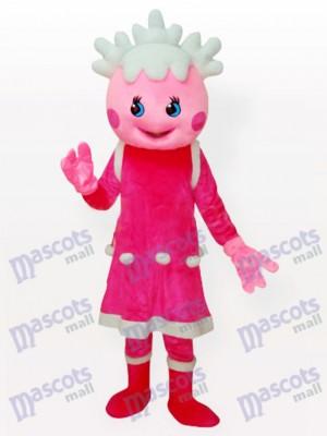 Rosa nieve Anime Para Adultos Disfraz de mascota