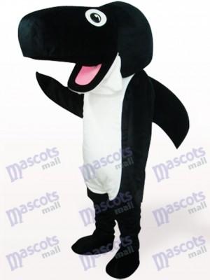 Ballena Negra Adulto Disfraz de mascota Oceano