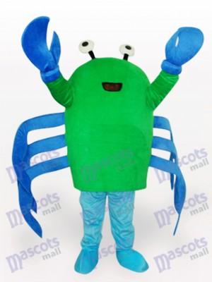 Cangrejo verde Disfraz de mascota