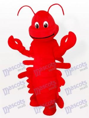 Langosta roja de dibujos animados Disfraz de mascota
