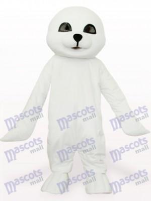 Sello blanco encantador Disfraz de mascota Oceano
