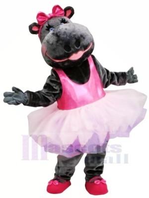 Falda Rosa Bailarina Hippo Disfraz de mascota