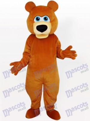 Gracioso oso pardo adulto Disfraz de mascota