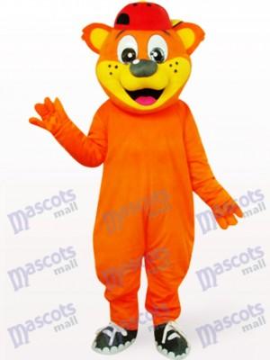 Oso Pipi Macho Naranja Disfraz de mascota animal