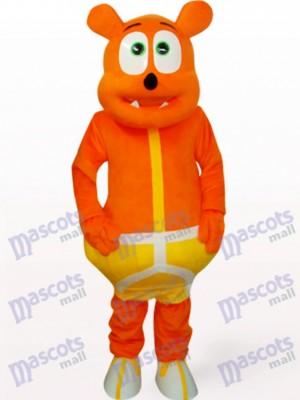Monstruo Oso Naranja Disfraz de mascota animal
