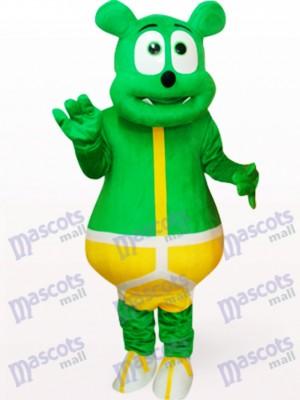 Peluche monstruo oso verde Disfraz de mascota