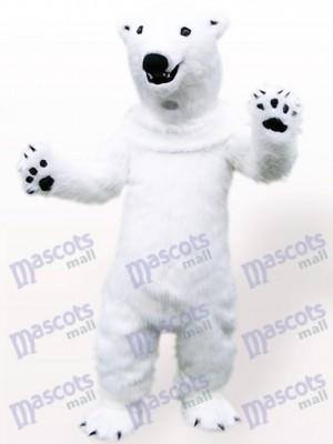 Animal fuerte oso polar Disfraz de mascota