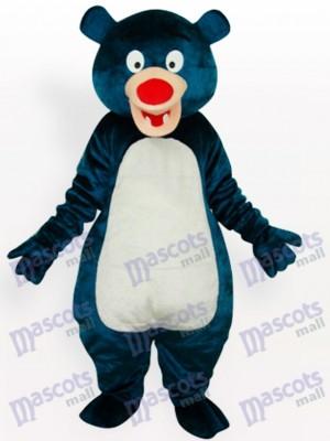 Nariz Roja Oso Azul Disfraz de mascota animal