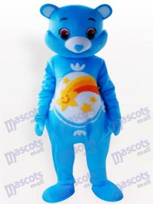 Lindo oso azul Disfraz de mascota Animal