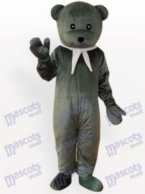 Oso gris Disfraz de mascota Animal
