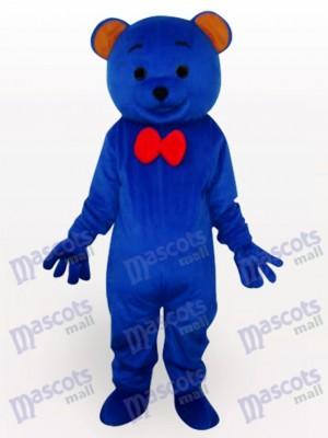 Osito de peluche azul Animal Disfraz de mascota