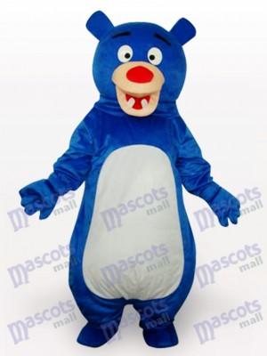 Nariz Roja Oso Azul Animal Disfraz de mascota