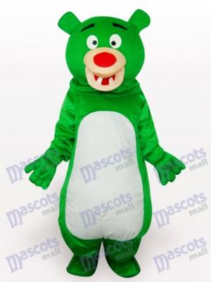 Nariz Roja Oso Verde Animal Disfraz de mascota