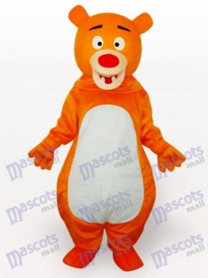 Nariz Roja Oso Naranja Animal Disfraz de mascota