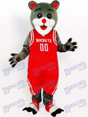 Oso de los Houston Rockets Disfraz de mascota animal