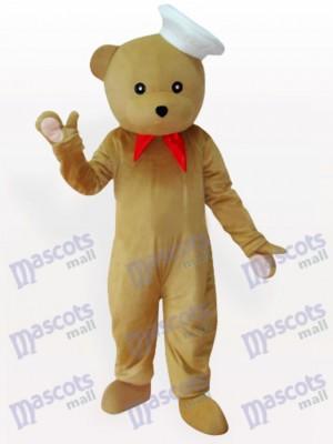 Chef de oso Disfraz de mascota animal