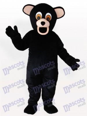Oso negro cómico Disfraz de mascota animal