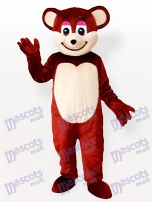 Oso pardo sonriente Disfraz de mascota animal