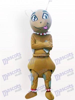 Hormiga marrón Insecto Disfraz de mascota