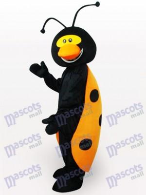 Mariquita negra y amarilla Insecto Disfraz de mascota