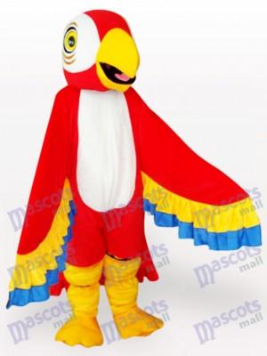 Pájaro Loro Rojo Adulto Disfraz de mascota Animal