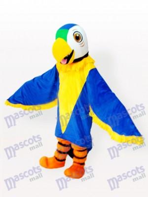 Pájaro loro con alas azules Disfraz de mascota Animal