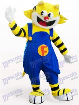 Sonriendo F-Cat gato Disfraz de mascota Animal