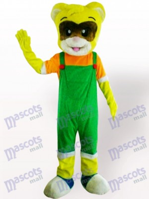 Gato amarillo macho Disfraz de mascota Animal