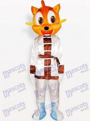 Ojos grandes de gato naranja Disfraz de mascota Animal