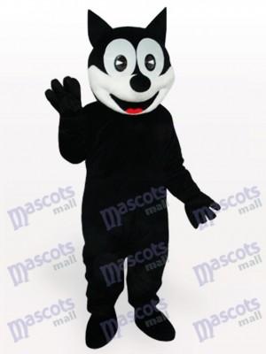 Feliz gato negro Disfraz de mascota Animal