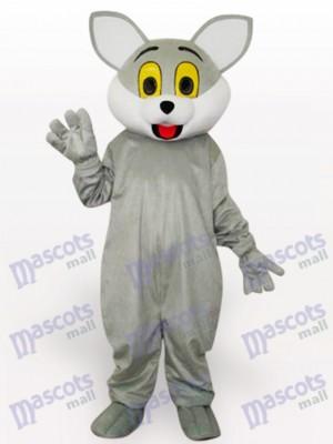 Lindo gato gris Disfraz de mascota Animal