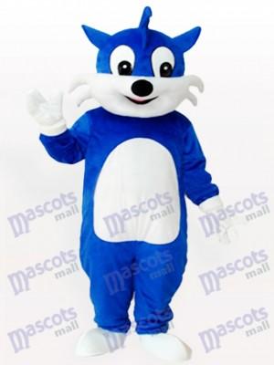 Gato azul adulto Disfraz de mascota Animal