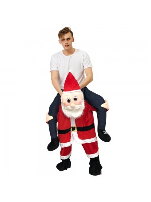 Santa Claus sonrojado Disfraz inflable