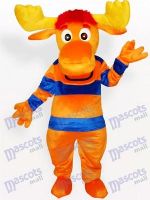 Ciervos en ropa de rayas Disfraz de mascota Animal