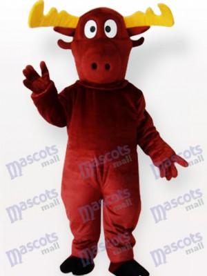 Reno rojo marrón Disfraz de mascota Animal