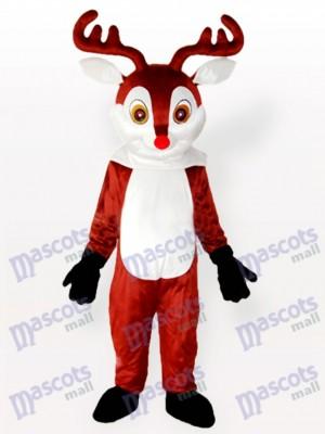 Pequeño Reno Marrón Disfraz de mascota Animal