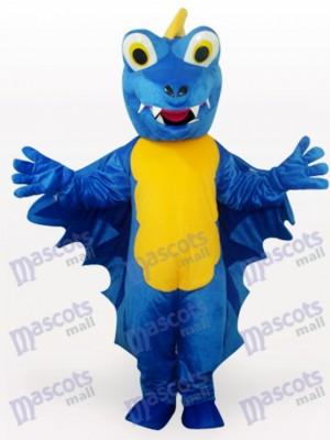 Dinosaurio azul adulto Disfraz de mascota
