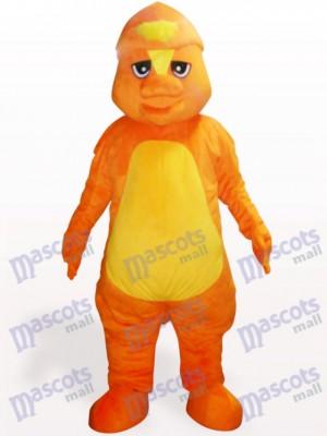 Dinosaurio naranja Disfraz de mascota Animal