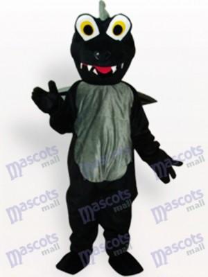 Dinosaurio negro adulto Disfraz de mascota Animal