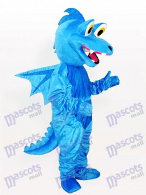 Estegosaurio azul adulto Disfraz de mascota Animal