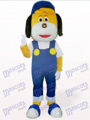 Perro con mono azul Disfraz de mascota Animal