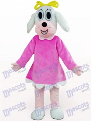 Perro en ropa fucsia Disfraz de mascota Animal