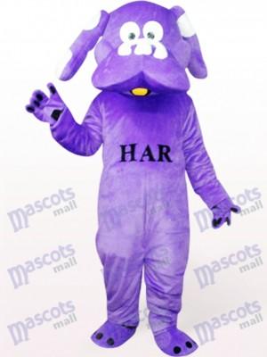 Perro morado Disfraz de mascota Animal