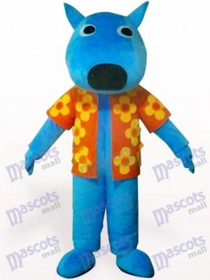 Perro macho azul Disfraz de mascota Animal