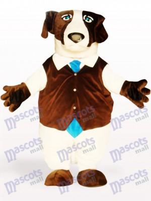 Perro marrón gordo fuerte Disfraz de mascota Animal