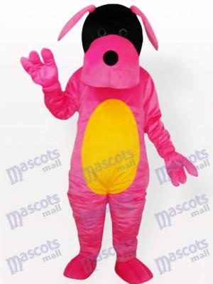 Perro rosa Disfraz de mascota