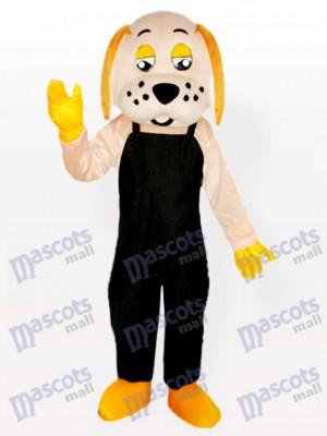 Perro de la fortuna con orejas amarillas Disfraz de mascota