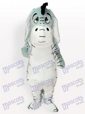 Gris Burro Disfraz de mascota