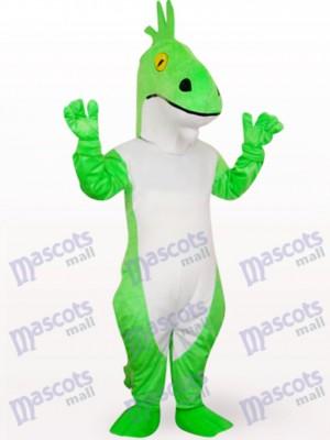 Continuar verde delgado Disfraz de mascota