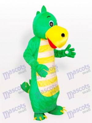 Continuar verde adulto Disfraz de mascota